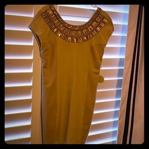 Altar'd State scoop back dress w/ embellishments